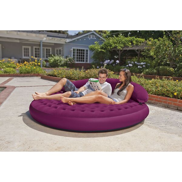 Intex lance le mobilier gonflable int rieur et ext rieur for Salon de jardin gonflable