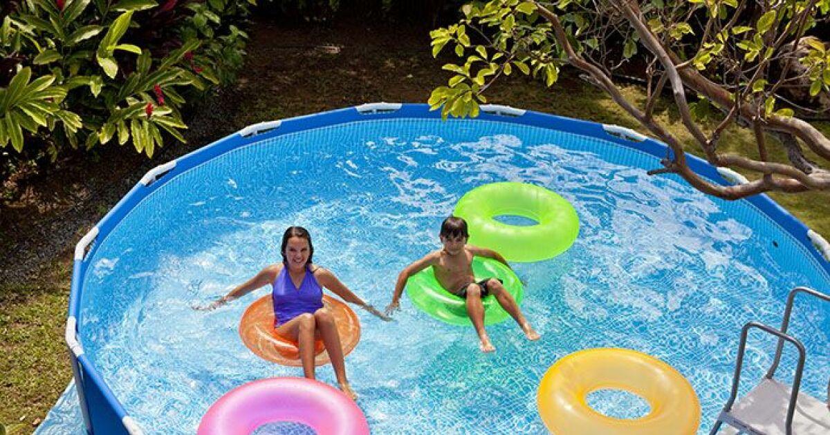 Les piscines hors sol intex pour tous les go ts et tous for Piscine intex metal frame