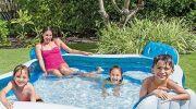5 piscines gonflables et accessoires INTEX pas cher