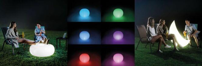 Intex présente ses éclairages gonflables