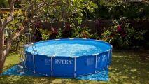 Un nouveau nettoyeur pour piscines hors-sol, par Intex