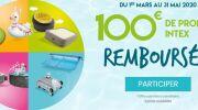 Intex vous offre 100€ de produits