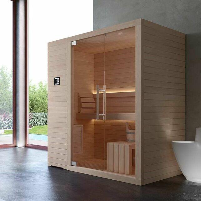 Un sauna personnalisable et design
