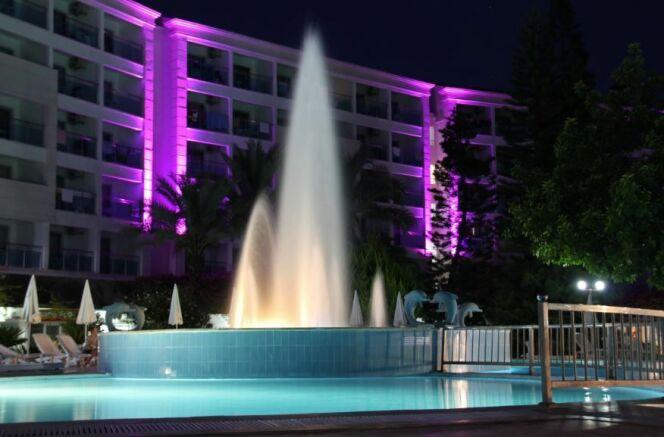 Jets lumineux pour piscine