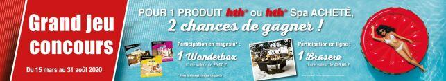 Jeu concours hth®: tentez de remporter un Brasero et des Wonderbox !