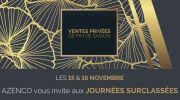 Journées Surclassées Azenco : 15 et 16 novembre