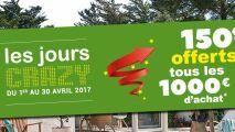 Abri de Piscine Rideau : 150€ offerts tous les 1000€ d'achat