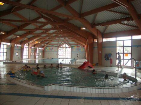 "La pataugeoire de la piscine Oréade<span class=""normal italic petit"">DR</span>"