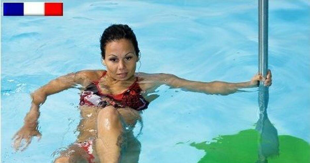 faire du sport dans sa piscine jumping bar poolbar par. Black Bedroom Furniture Sets. Home Design Ideas