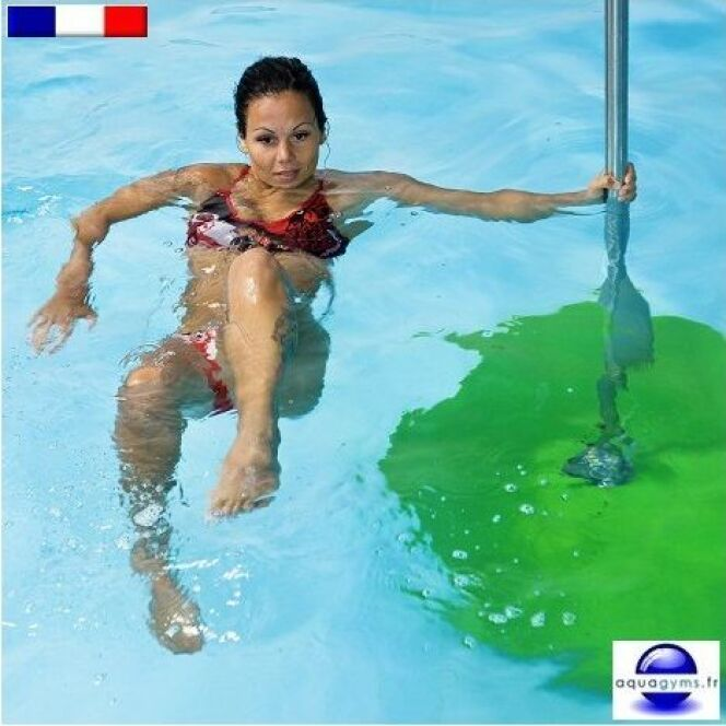 Jumping Bar Poolbar par Aquagyms© Aquagyms