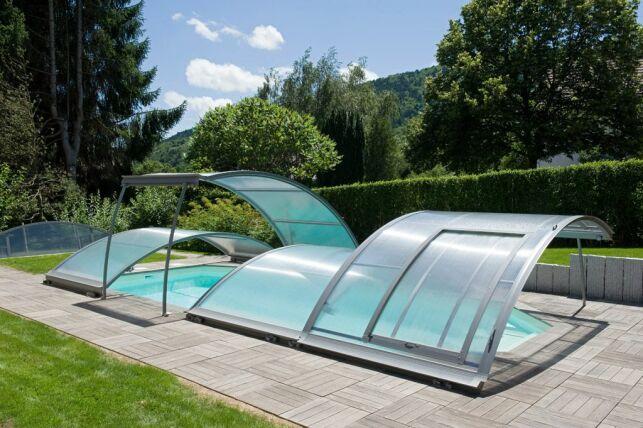 L'abri de piscine amovible
