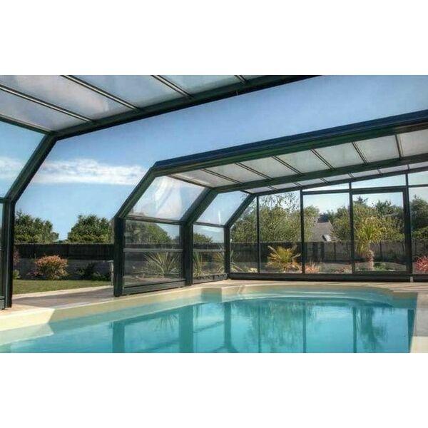 l abri de piscine en acier caract ristiques atouts prix. Black Bedroom Furniture Sets. Home Design Ideas