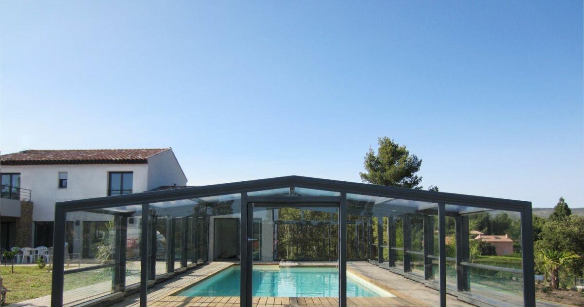 Abri de piscine optimo abrid al for Abri de piscine circulaire