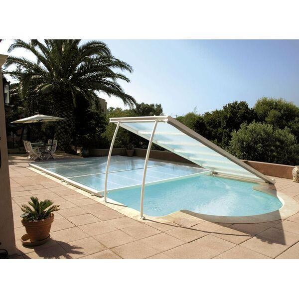 l abri de piscine plat pratique et original. Black Bedroom Furniture Sets. Home Design Ideas