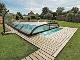 L'abri de piscine télescopique