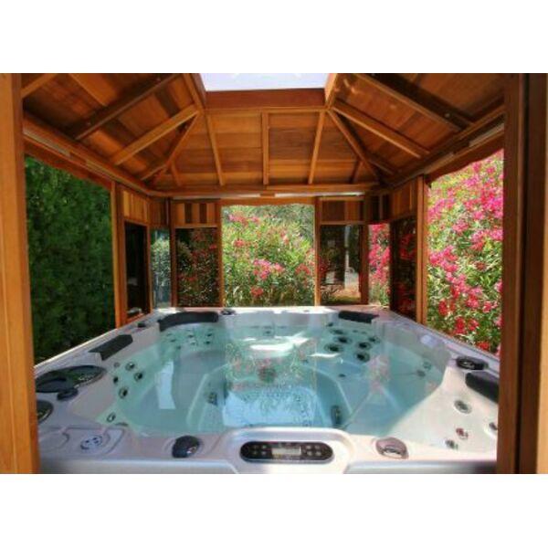 L abri de spa en kit - Photo de spa exterieur ...
