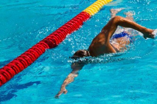 """L'affûtage avant une compétition en natation<span class=""""normal italic petit"""">DR</span>"""