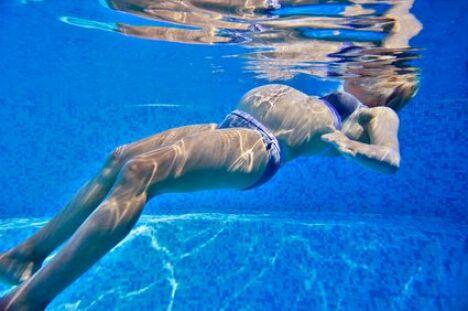 "L'aquagym prénatale : l'un des rares sports adaptés aux femmes enceintes<span class=""normal italic"">© Fwed - Fotolia.com</span>"