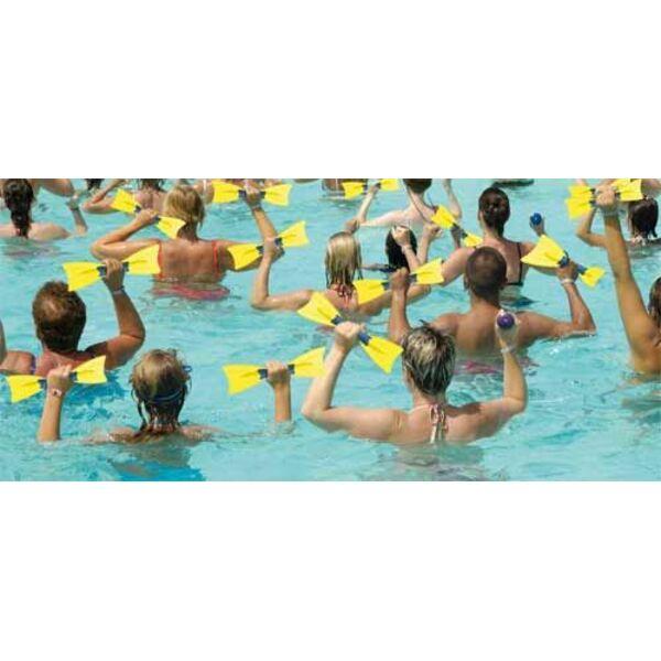 L aquarame en aquagym utilisation exercices for Piscine blomet aquagym