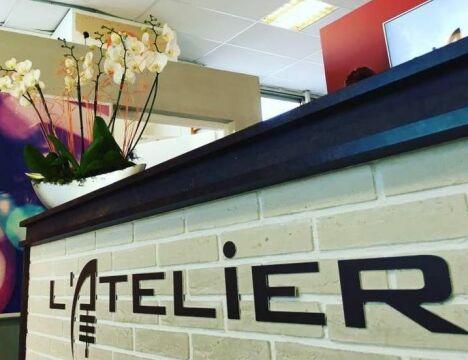 """L'Atelier Salles de Sport<span class=""""normal italic petit"""">© L'Atelier</span>"""