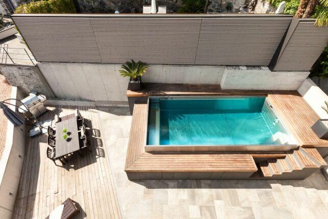 L'avantage d'une petite piscine enterrée