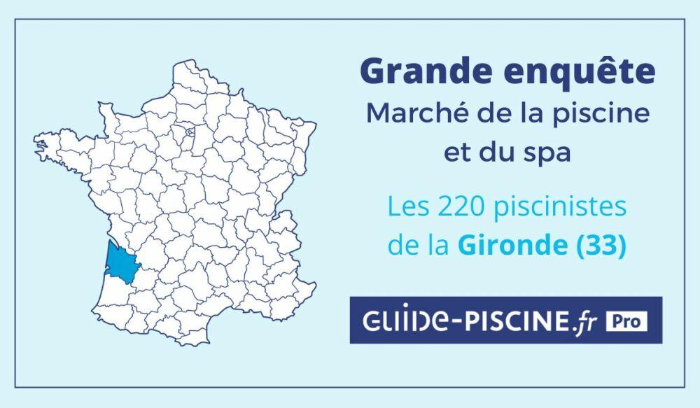 Enquête Guide-Piscine sur les piscinistes de GirondeDR