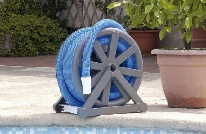 L'enrouleur de tuyau flottant