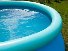 Entretien d'une piscine gonflable