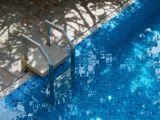 L'escalier de piscine amovible