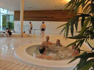L'espace bien-être de la piscine Alméo à Moreuil