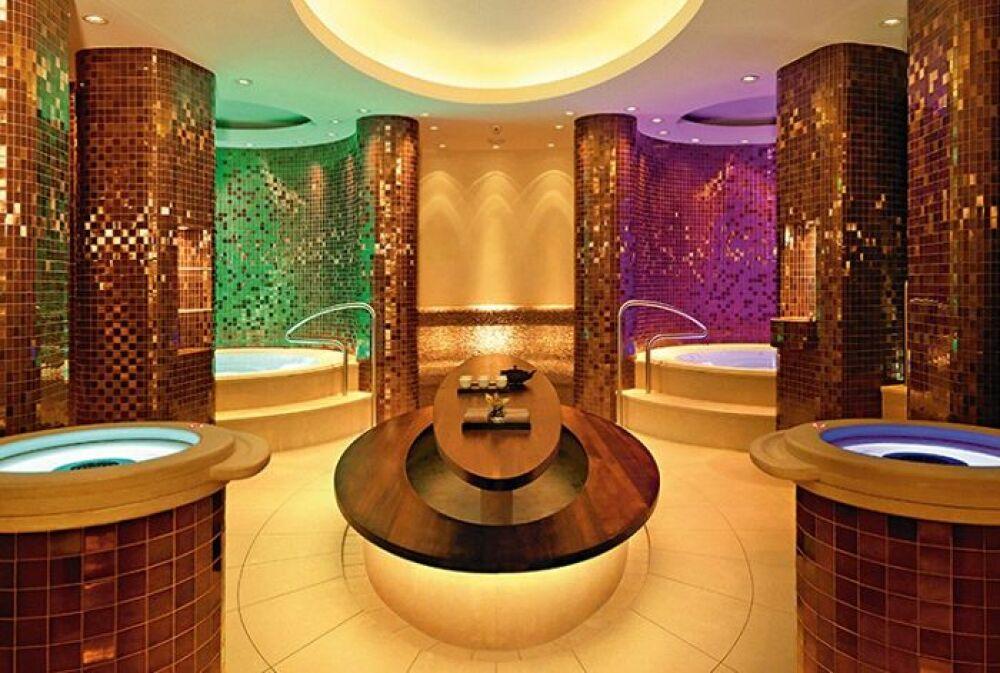 L'espace bien-être du Doler Grand Hotel, en SuisseDR