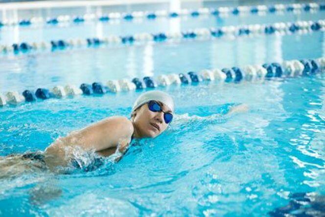 """L'excentré en natation<span class=""""normal italic petit"""">DR</span>"""