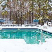 Hivernage actif d'une piscine