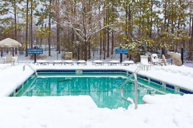 L'hivernage actif de la piscine