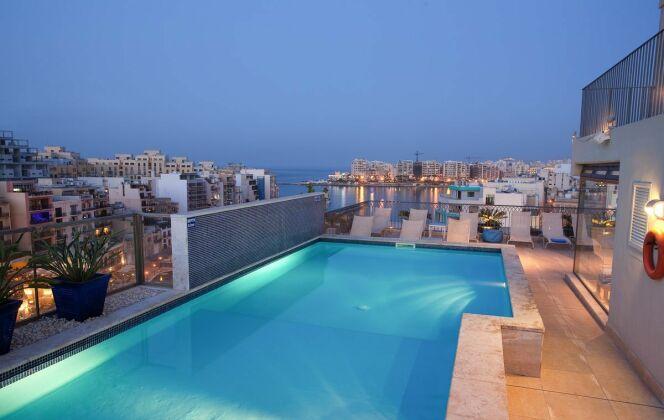 L'hôtel Juliani à Malte © Hotel Juliani