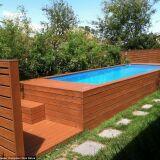 L'idée récup du jour : une piscine dans un conteneur à ordures