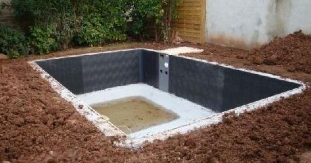 L installation d une mini piscine for Installer une piscine