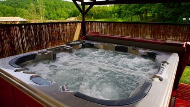 Un spa bien isolé est important pour des baignades toujours à bonne température.