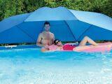 L'ombrelle de piscine