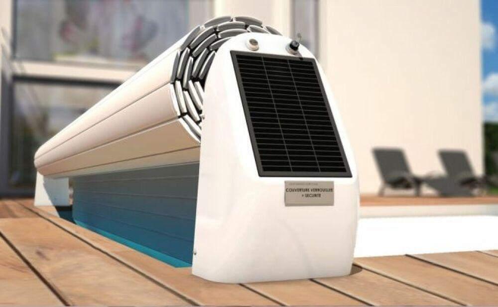 L'Open Solar 2, le volet hors sol solaire design par Abriblue© Abriblue