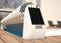 L'Open Solar 2, le volet hors sol solaire design par Abriblue