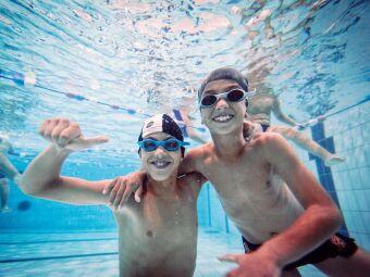 Une opération solidaire pour apprendre aux enfants à nager