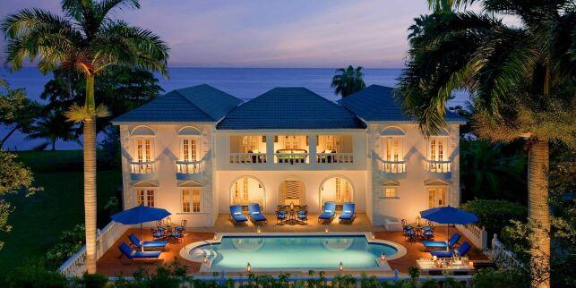 L'une des villas du Half Moon Resort, avec sa piscine privée