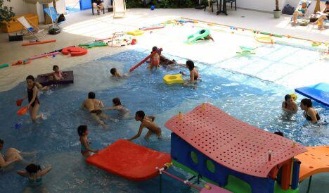 Piscine de l 39 arche gu don torcy horaires tarifs et for Piscine jardin aquatique