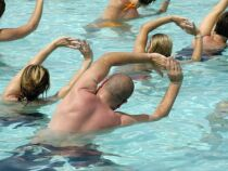 L'aquagym en piscine