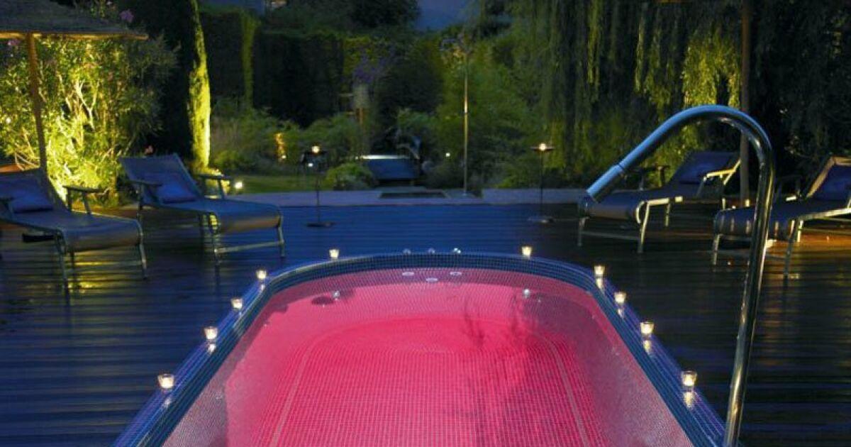 Les plus beaux spas de nage en photos spa de nage for Mini piscine spa de nage