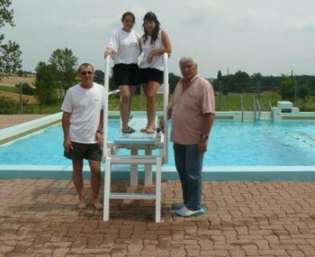 L'équipe de la piscine de Rabastens