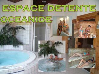 L'espace détente de la piscine Océanide