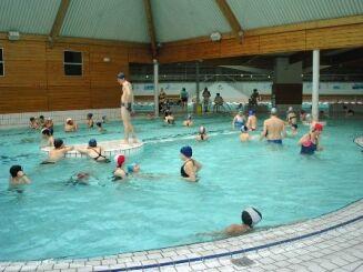 La bassin ludique de la piscine Roger Gougon à Epinal