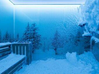 La cabine à neige